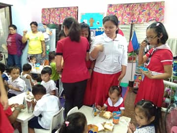 Feeding (Angliongto Day Care Center)